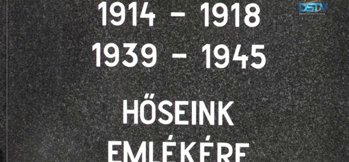 Embedded thumbnail for Az elesett dunaszerdahelyi katonák emléke előtt tisztelegtek a rendezvényen