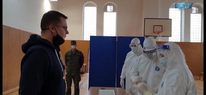 Embedded thumbnail for Az országos tesztelésre készül Dunaszerdahely is