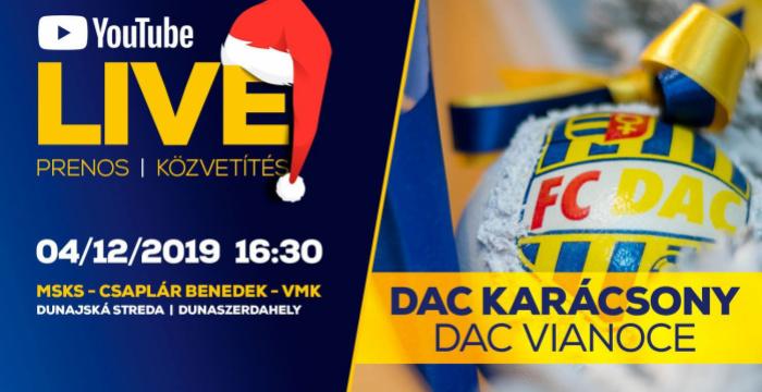 Videó: A VI. DAC-karácsony ünnepség