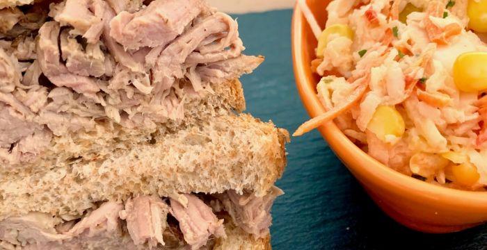 Pulled Pork, az amerikaiak híres, omlós,tépett húsa
