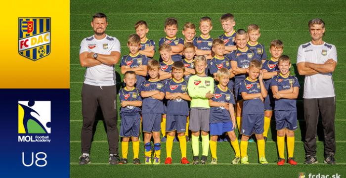 A 2018/19-es szezon: DAC U8
