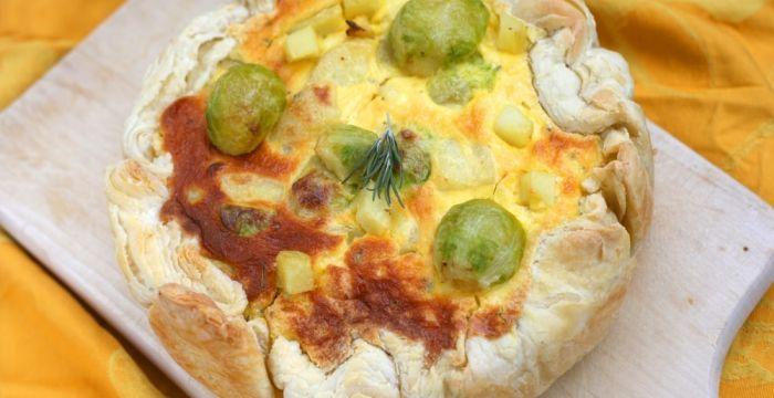 Böjtben is lehet finomakat enni – kelbimbós francia pite
