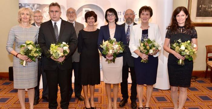 A Magyar Kémiaoktatásért Díjban részesült Bartal Mónika