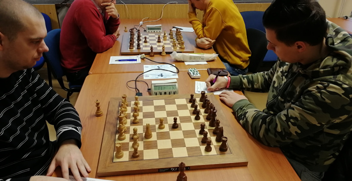 Pozsonyban vendégszerepelt sakkcsapatunk