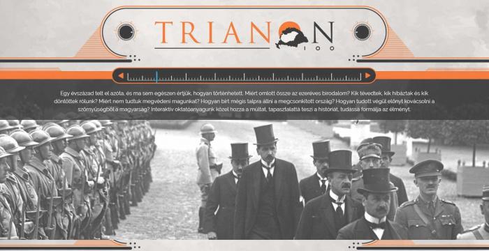 Trianon 100 – digitális oktatási anyag