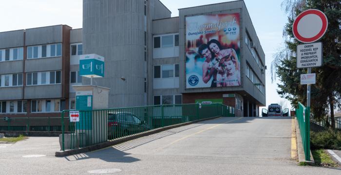 Látogatási tilalom a dunaszerdahelyi kórházban