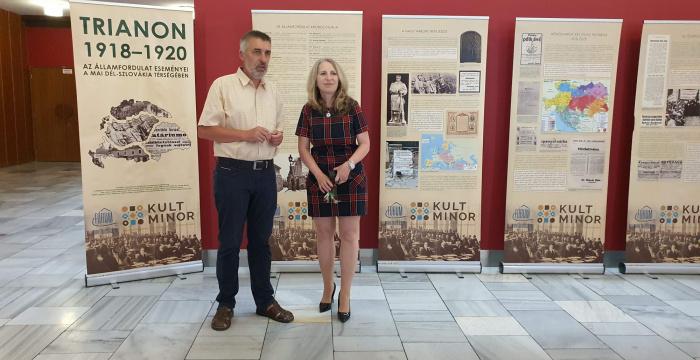 Az iskolák figyelmébe ajánlják a Csaplár Trianont bemutató kiállítását