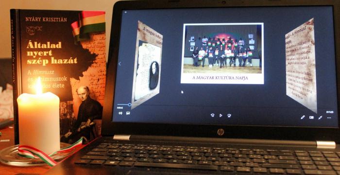 Zenés irodalmi műsorral ünnepelték meg a Magyar Kultúra Napját