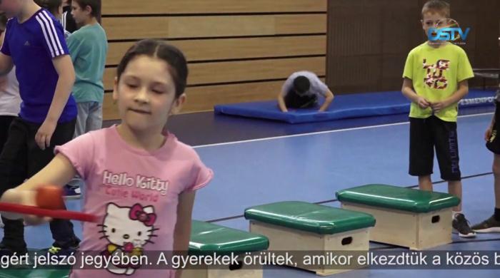 Embedded thumbnail for Kétszázharminc gyerek sportolt önfeledten a rendezvényen