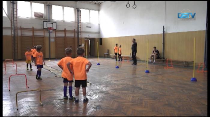 Embedded thumbnail for A nyári táborban közel harminc gyermek fejlesztette focitudását
