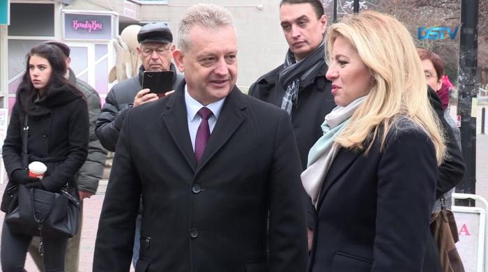 Embedded thumbnail for A szlovák államfő a csallóközi magyarok közé látogatott