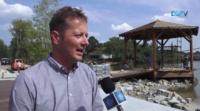 Embedded thumbnail for Javában tartanak a tóparti revitalizációs munkálatok