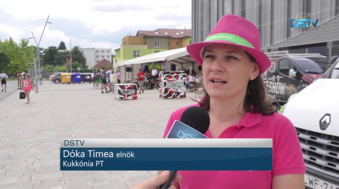 Embedded thumbnail for Közel négyszázan pattantak bringára a rendezvényen