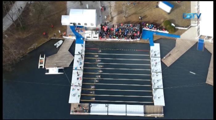 Embedded thumbnail for Világbajnokság és téli Balaton-átúszás volt a jegesúszók programja