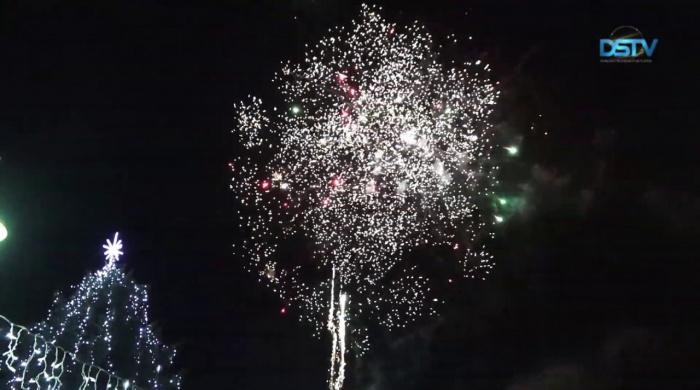 Embedded thumbnail for Vidám óévbúcsúztató és újévköszöntő buli volt a kultúrház előtti téren