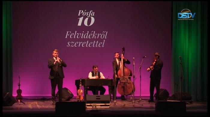 Embedded thumbnail for Koncerttel ünnepelte 10. születésnapját a Pósfa zenekar