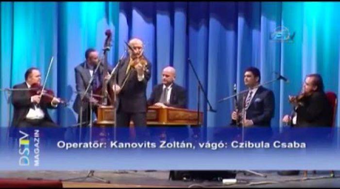 Embedded thumbnail for A magyarnóta kedvelőinek csemegét kínált a nótaest