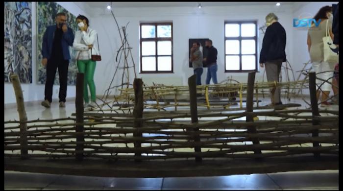 Embedded thumbnail for Hazai pályán mutatkoztak be a képzőművészek