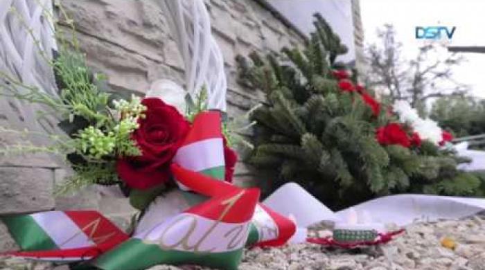 Embedded thumbnail for A több mint 100 ezer kitelepített felvidéki magyarra emlékeztek