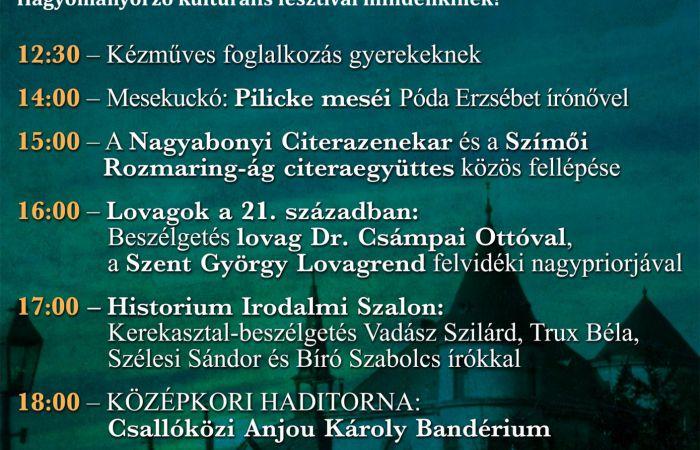 Szombat délben indul a IV. Dunaszerdahelyi Kastélyfesztivál!