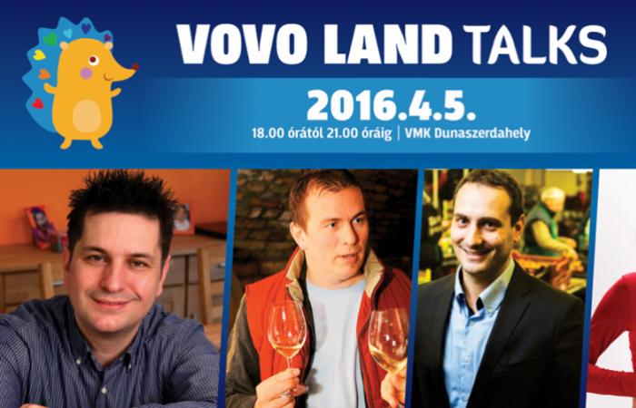 VOVO LAND TALKS - a lehetőségek estje