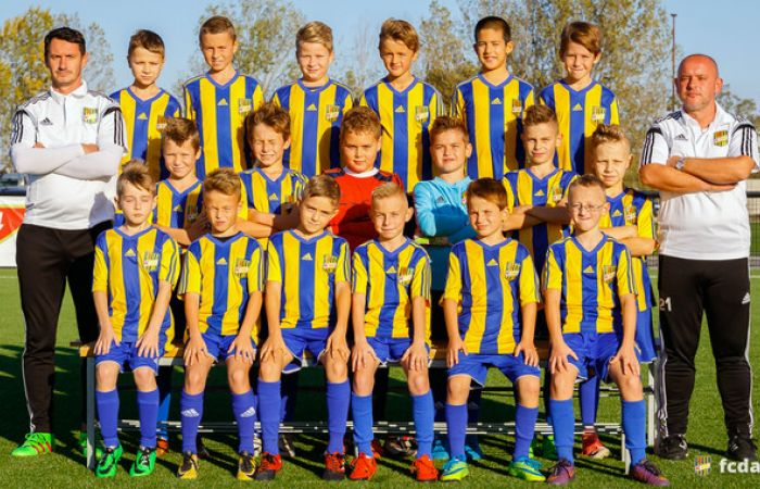 A 2017/18-as szezon: DAC U10