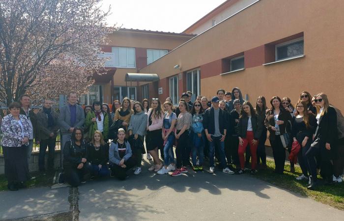 Szentendrei baráti iskola látogatása Dunaszerdahelyen - VIDEÓ