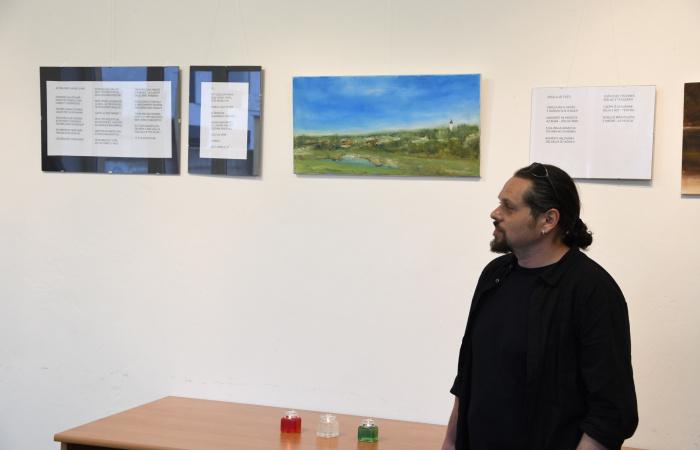 Nagy Dániel kiállítása Dunaszerdahelyen