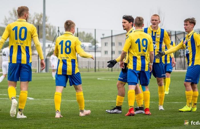 U19: Sároseperjes - DAC 0:2 (0:1)