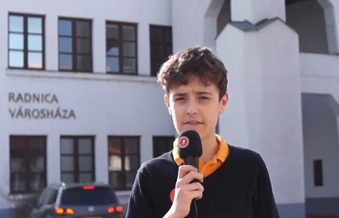 Dunaszerdahelyi diák buzdít az EP-választáson való részvételre - VIDEÓ