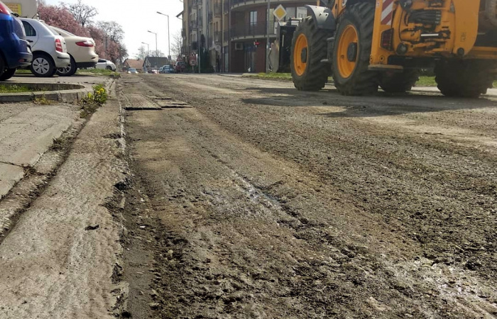 Zajik a Komenský és jön a Sport utca felújítása