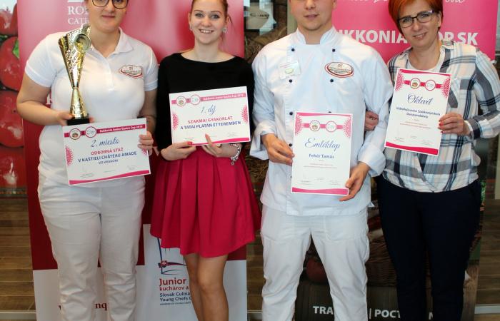 Óriási siker egy színvonalas gasztronómiai versenyen