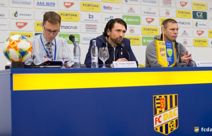 Edzői értékelés az FC DAC 1904 - MŠK Zsolna (1:0) mérkőzés után