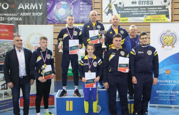 Csörgő Tamás és Gaál András országos bajnokok