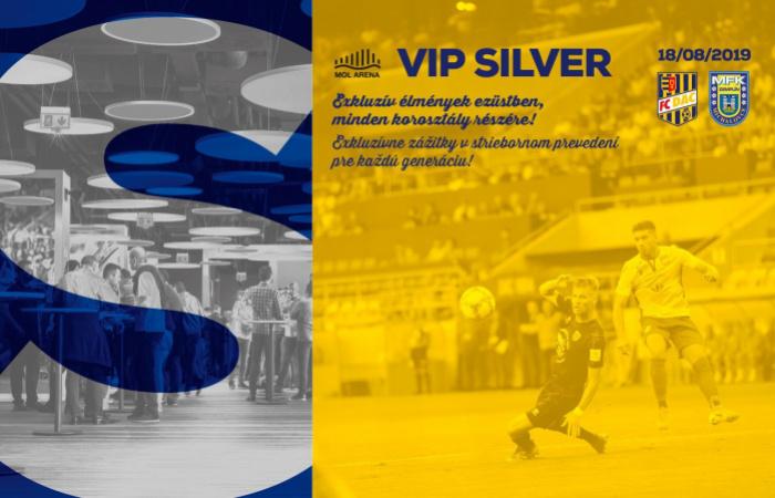 VIP Silver menü a DAC-Nagymihály bajnokira