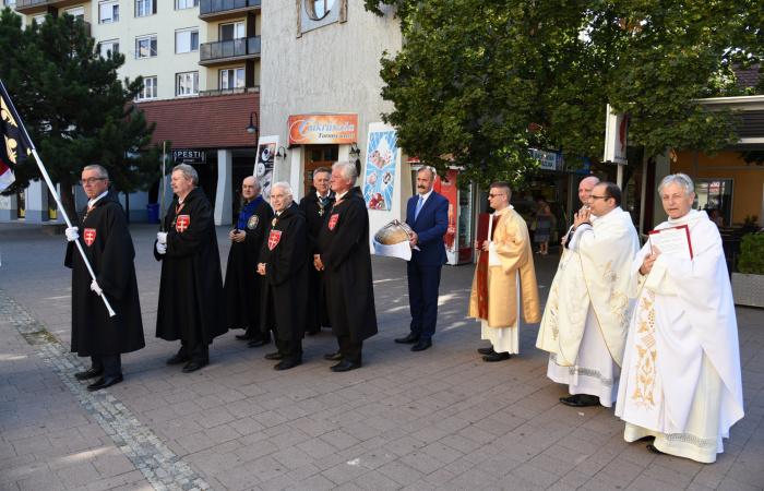 Megáldják a dunaszerdahelyiek kenyerét Szent István napján