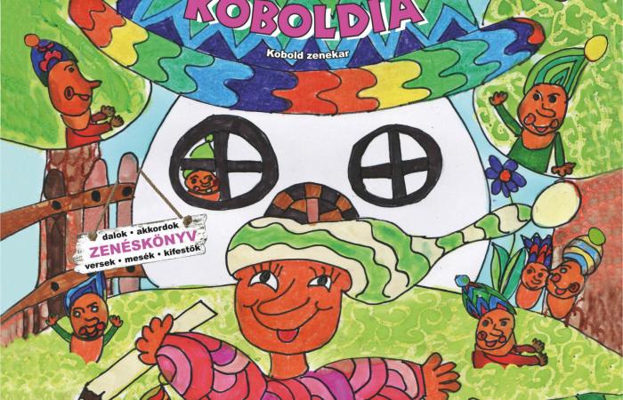 Az átváltozó zenéskönyv! - Koboldia