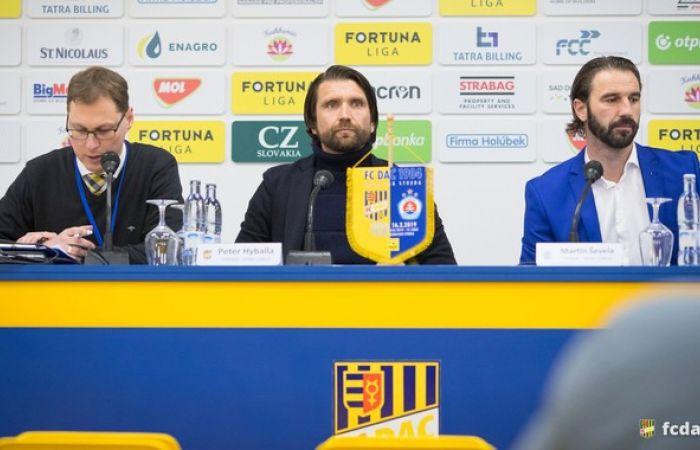 Edzői értékelés az FC DAC 1904 - ŠK Slovan (0:1) mérkőzés után