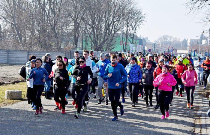 Valentin-napi futás Dunaszerdahelyen