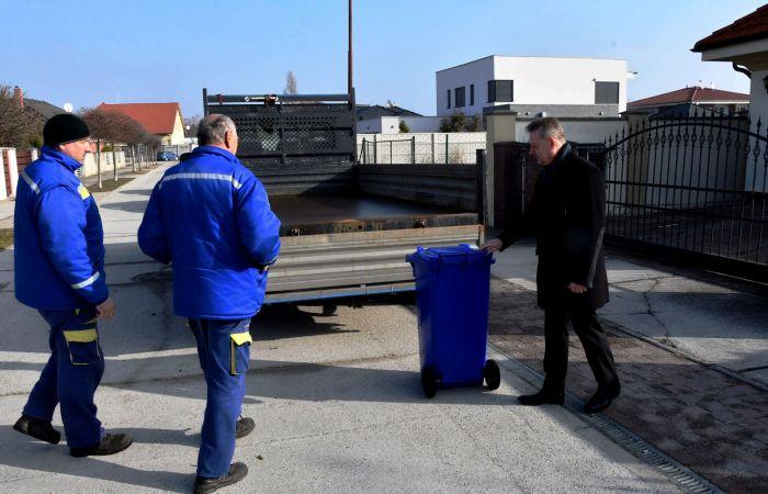 Az önkormányzat az osztályozott hulladék mennyiségének növelésére törekszik