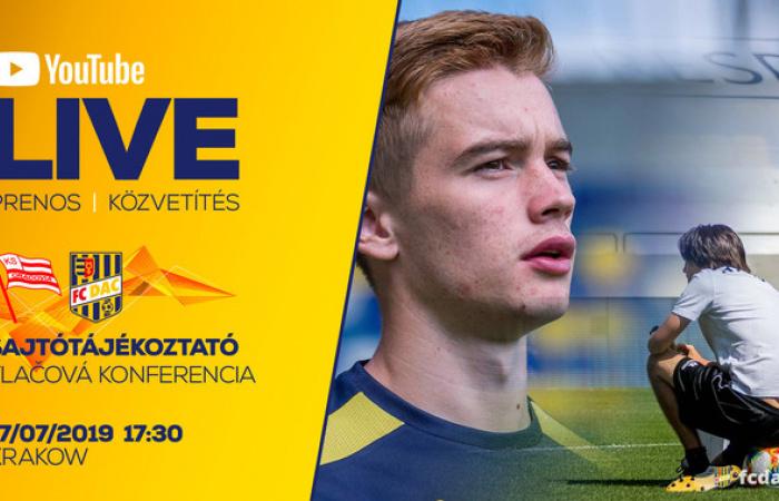 Kövesse élőben a DAC krakkói sajtótájékoztatóját!