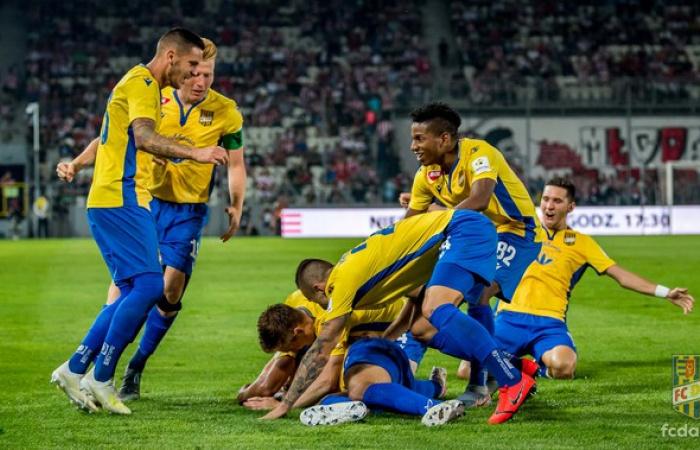 Összefoglaló aZ MKS Cracovia - FC DAC 1904 (2:2) mérkőzésről