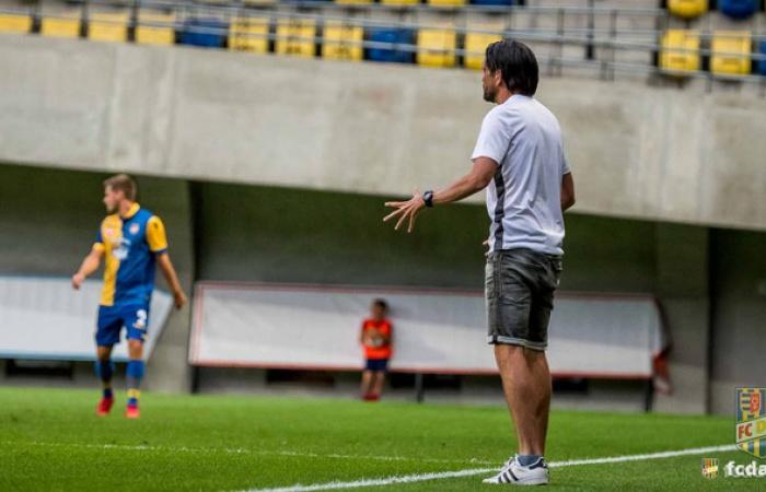 Peter Hyballa a Sepsi OSK és a MOL Fehérvár FC elleni felkészülési mérkőzésekről