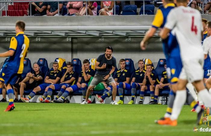 Peter Hyballa a Vasas FC elleni felkészülési mérkőzésről