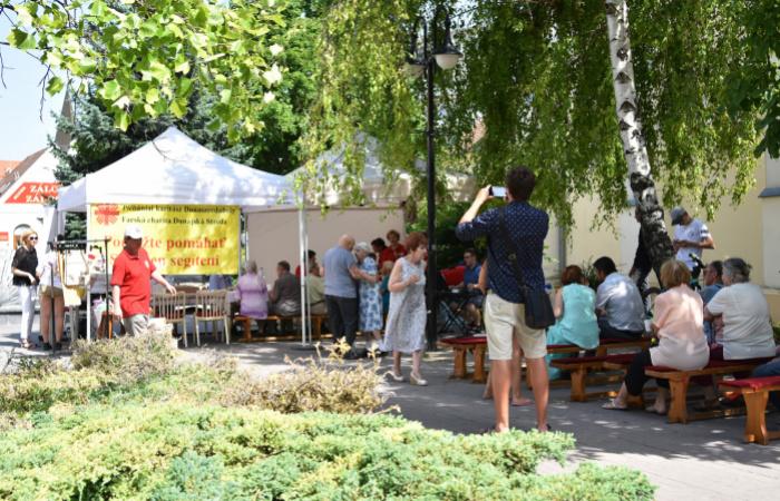 A segítő szándék fesztiválja zajlott Dunaszerdahelyen