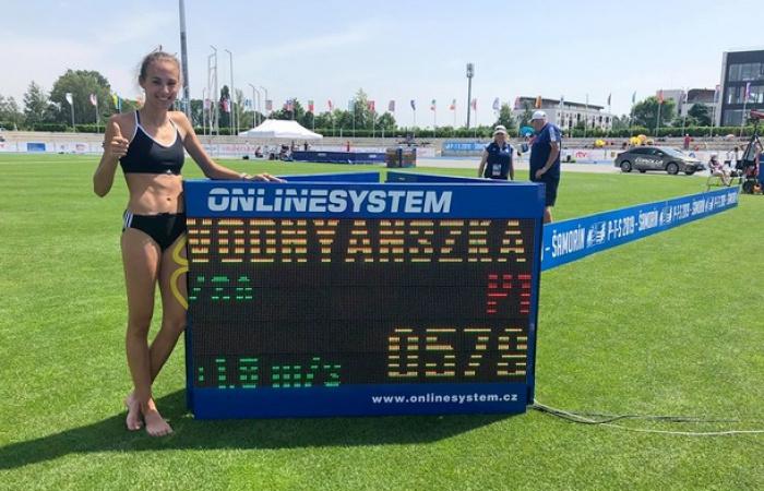 Vodnyánszká Renáta újra egyéni rekordot döntött