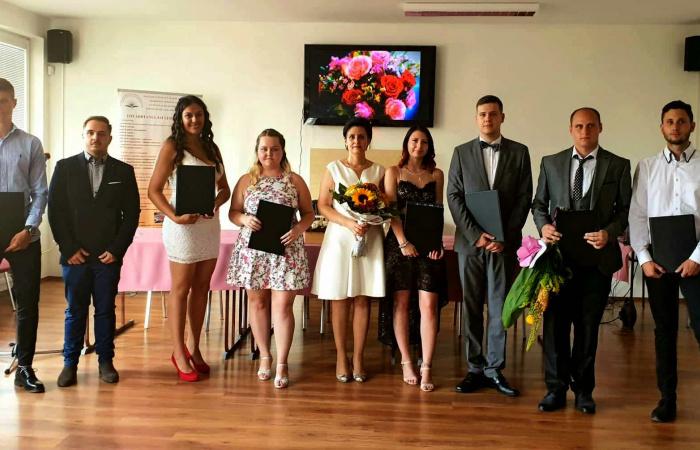 Diplomaosztó ünnepség a szakközépiskolában