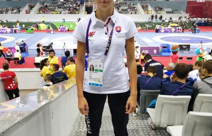 Pollák Anna kiválóan szerepelt Bakuban