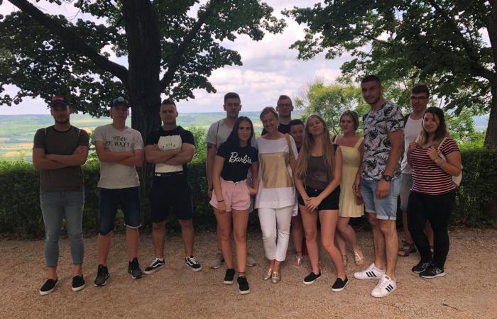 Pannonhalmán jártak a szakközépiskolások