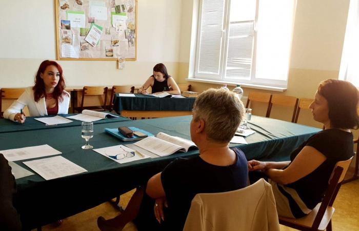 Szóbeli érettségi vizsgák a Neratovicei téri Magyar Tannyelvű Magán Szakközépiskolában